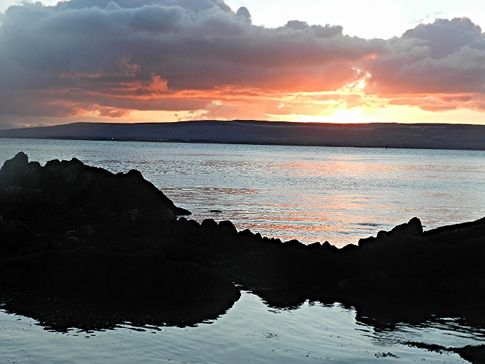 Sunrise at Glenburnie beach, Lough Foyle
