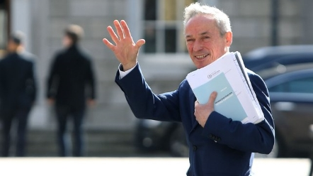 Richard Bruton said Fine Gael did not win the election so it cannot impose its policy on the Dáil