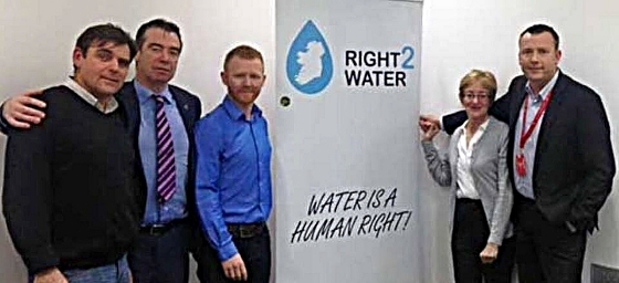 Right2Water unofficial leadership