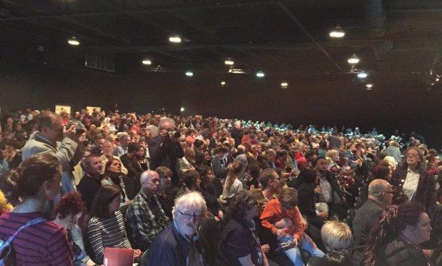 Mass meeting in Leeds July 31, 2016,  yorkshireeveningpost.co.uk