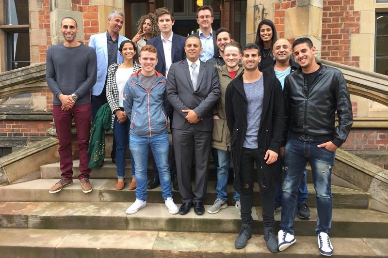 Sinn Féin youth met a delegation from Israeli Prime Minister Benjamin Netanyahu's Likud Party in Belfast in June. (via   Forward Thinking  )