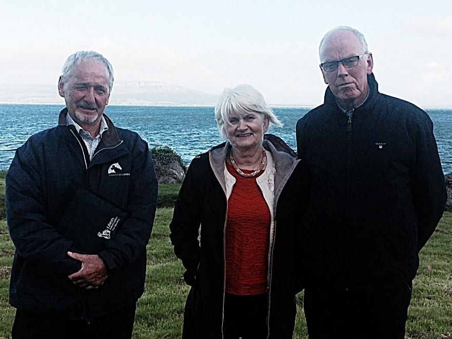 Enda Craig, CFCE, Marian Harkin, MEP &Don McGinley, CFCE