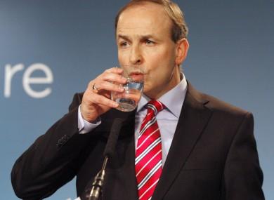 Fianna Fail leader Micheál Martin pictured in 2011.   i  mage: Mark Stedman/RollingNews.ie