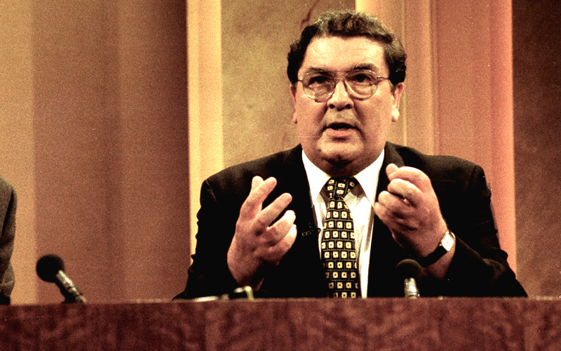 One of Ireland's greatest peace campaigners, John Hume, also lives in the area. Image: RollingNews.ie.