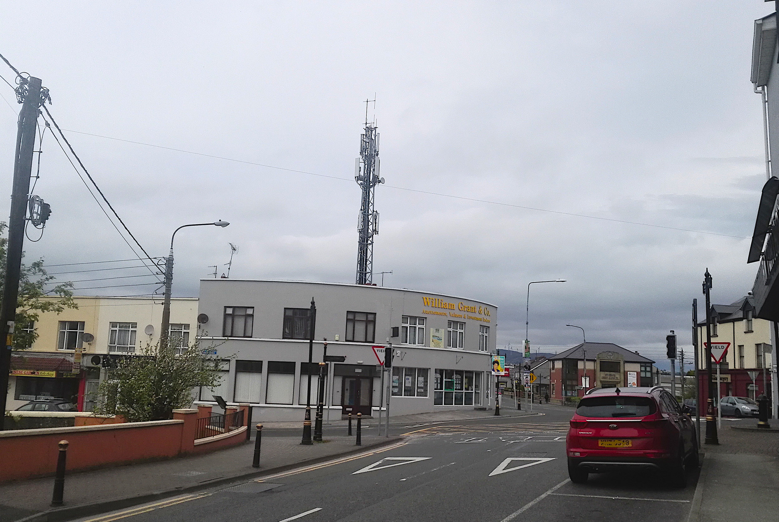 ESB Mast West End, Buncrana