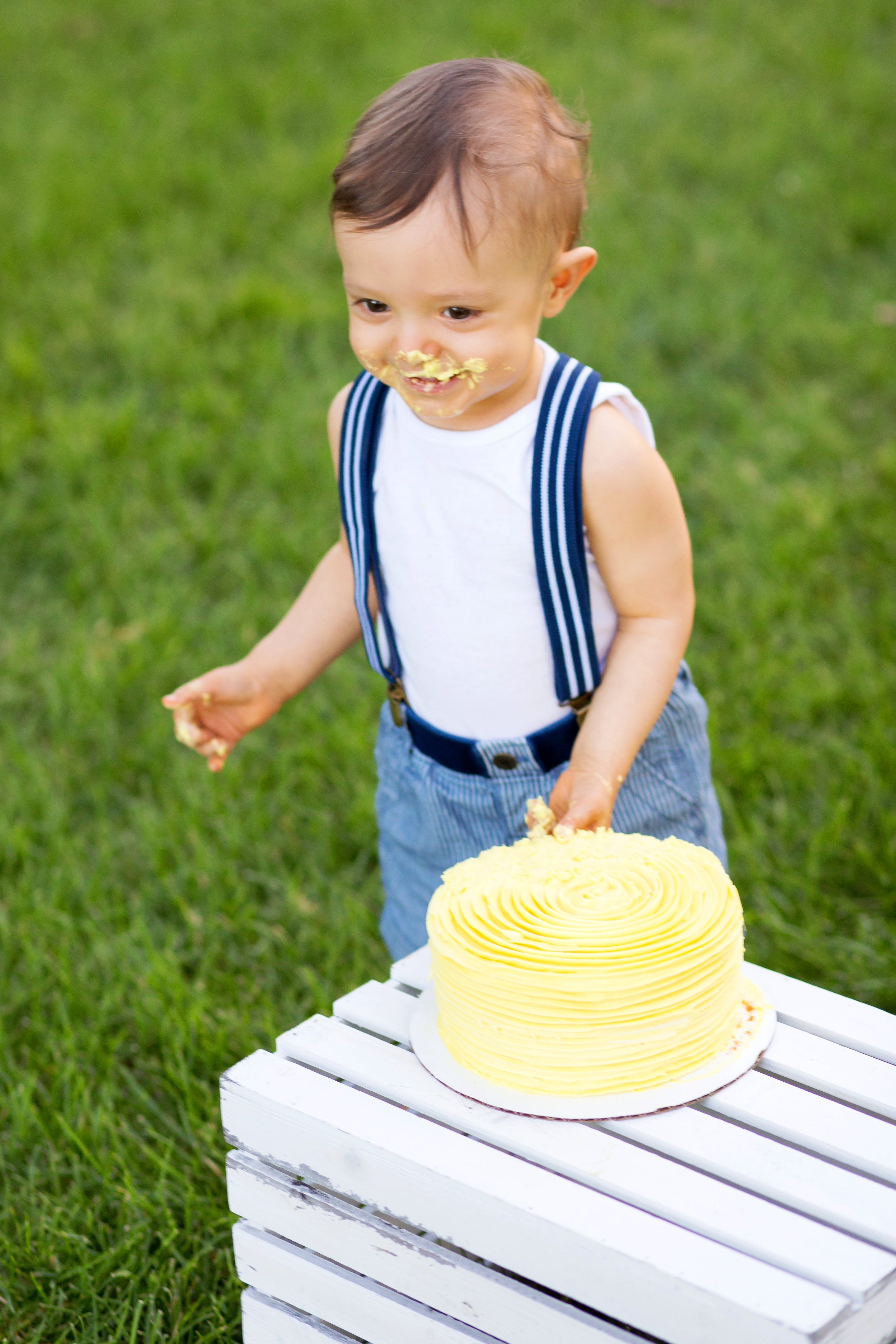 Denver Cake Smash Photographer