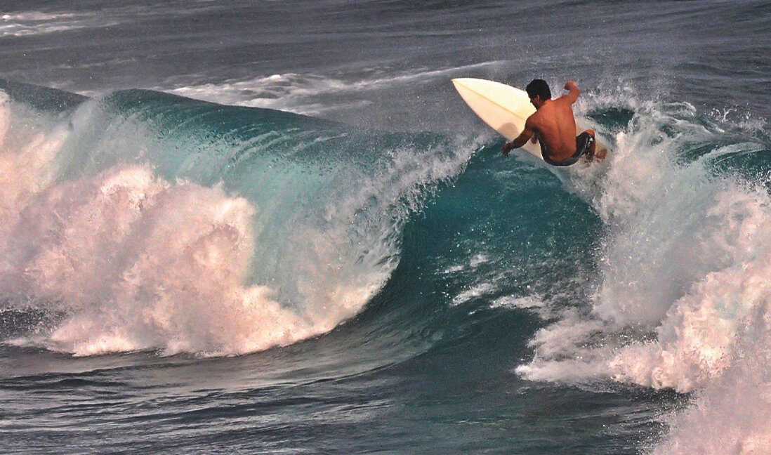 Ho'okipa Surfer by Michael Ivey