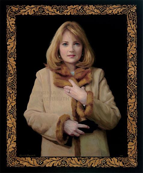 Portrait in Winter Coat