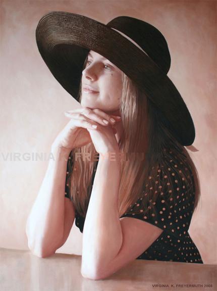 Julie Wearing a Hat