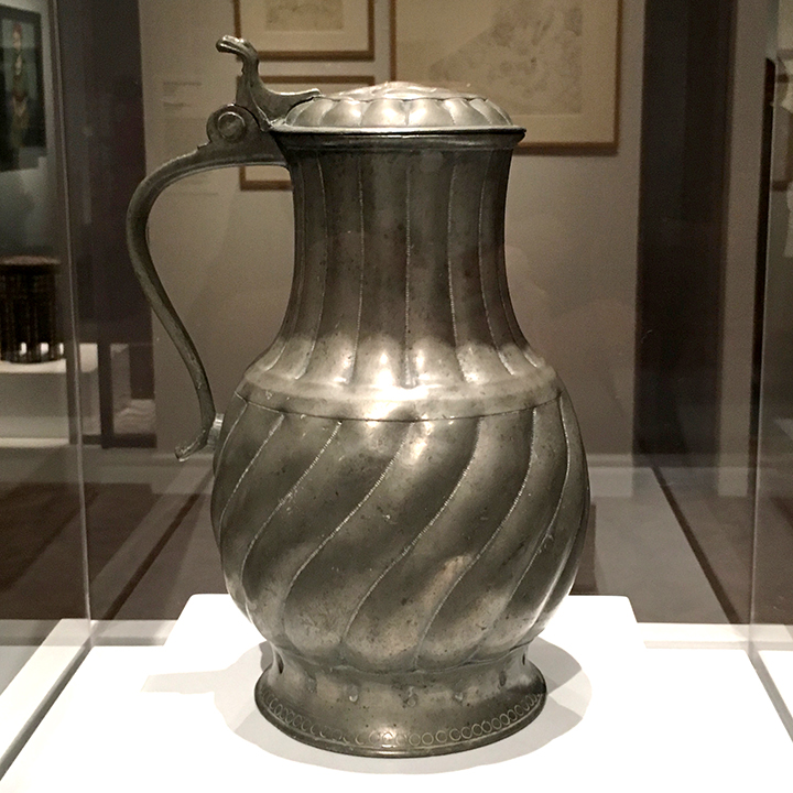 Matisse pewter jug that appears in the painting (above)