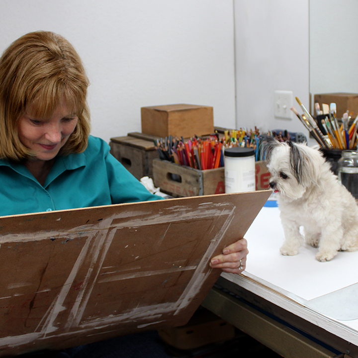 THE ARTIST AT HER DRAWING BOARD_FREYERMUTH.jpg