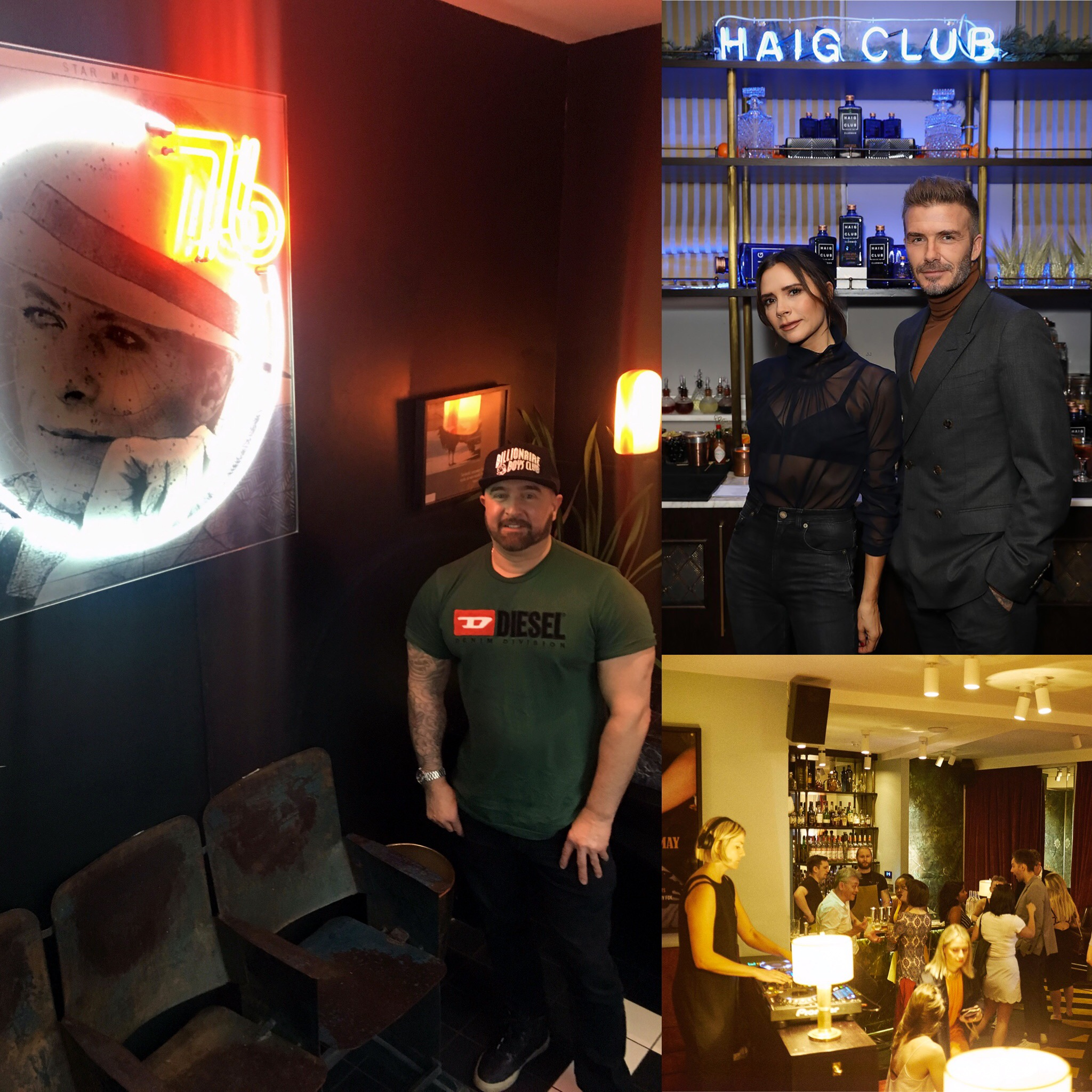 Neon Installation - Laylow members club, Notting Hill. -