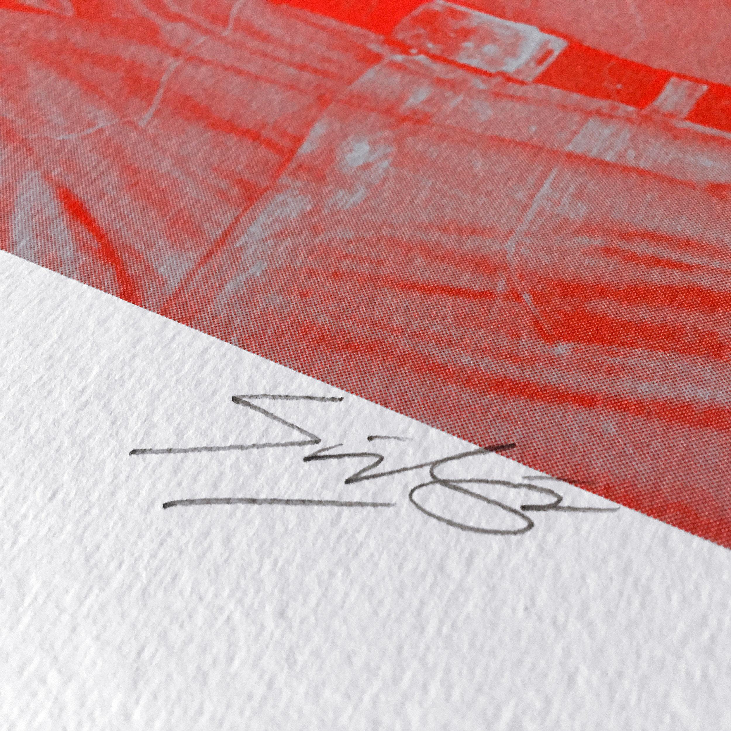 Premium quality. - 50cm x 50cm or 80cm x 80cm image size on Hahnemühle fine art paper.