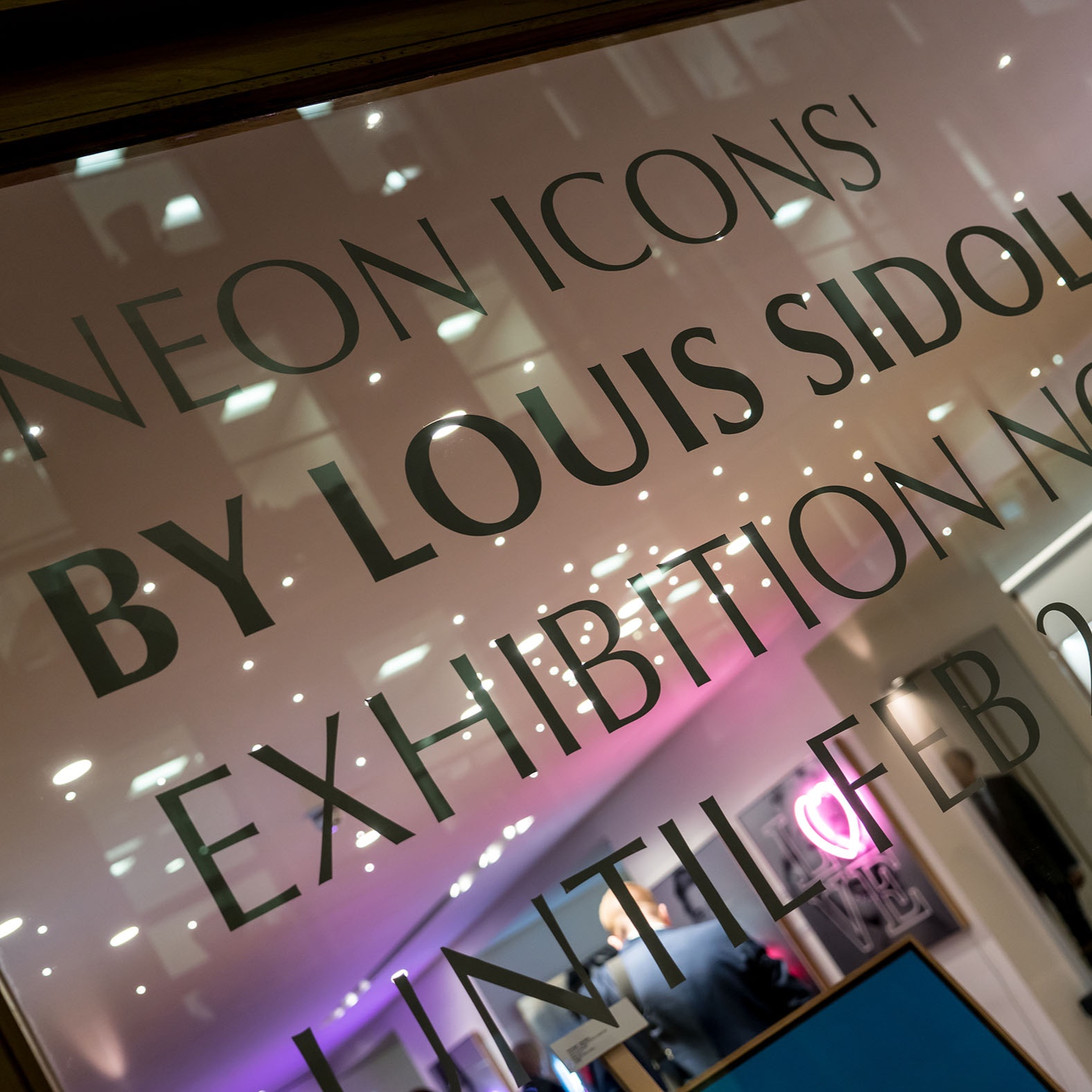 Aston Martin 'Neon Icons' exhibition - Mayfair. -