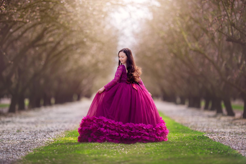 Modesto Almond Blossom Photographer