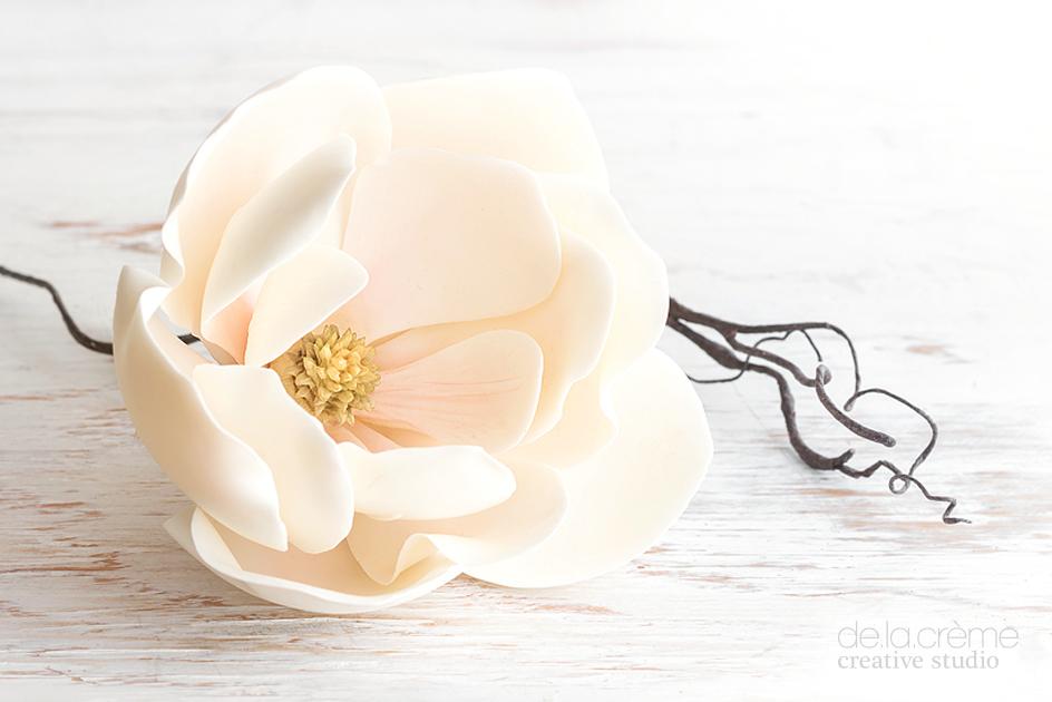Southern Magnolia Sugar Flower