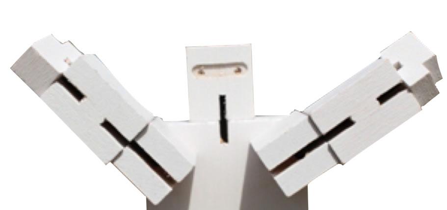 "CubeBot says  ""Hi!"""