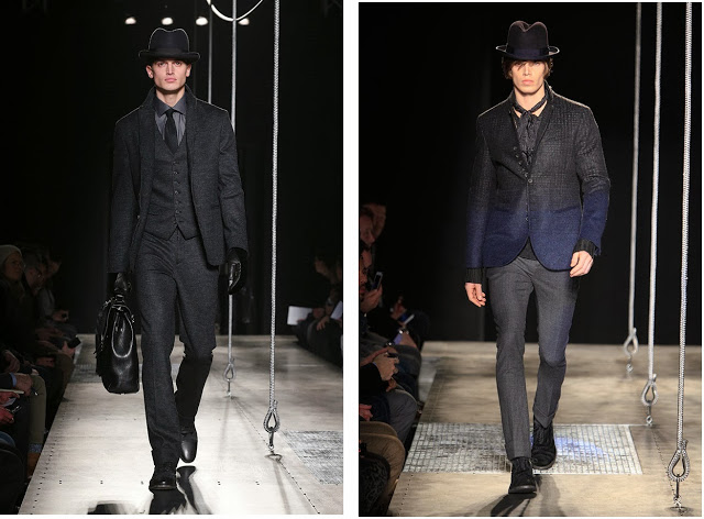 Looks from Varvatos' FW2014 Runway, Courtesy of John Varvatos