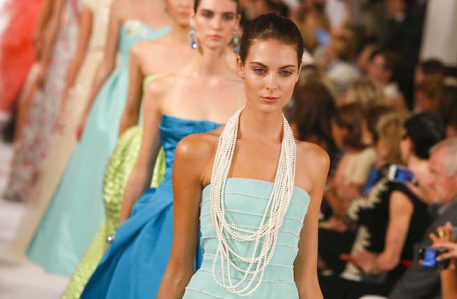 Oscar de la Renta Spring/Summer 2014 at New York Fashion Week | Source: NowFashion   Note: BusinessofFashion.com has also published this Op-Ed