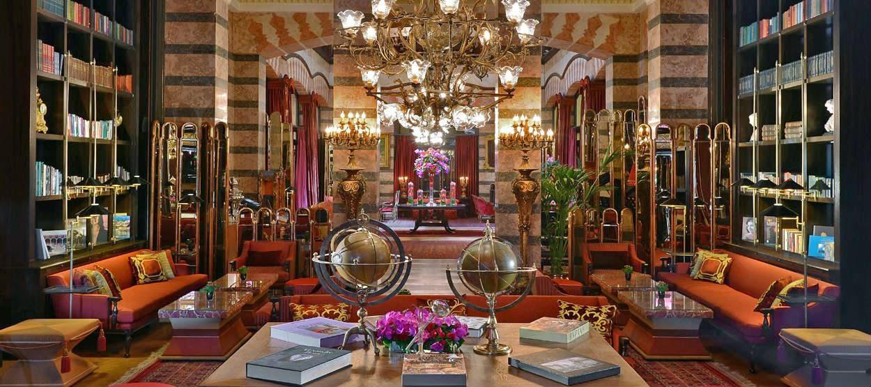 The lobby at Pera Palas