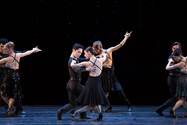 A scene from Black Cake. Image c/o Boston Ballet.