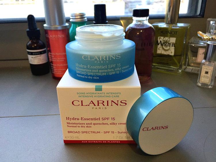 Clarins Hydra-Essentiel Silk Cream SPF 15, $48 at Nordstrom + Free Shipping