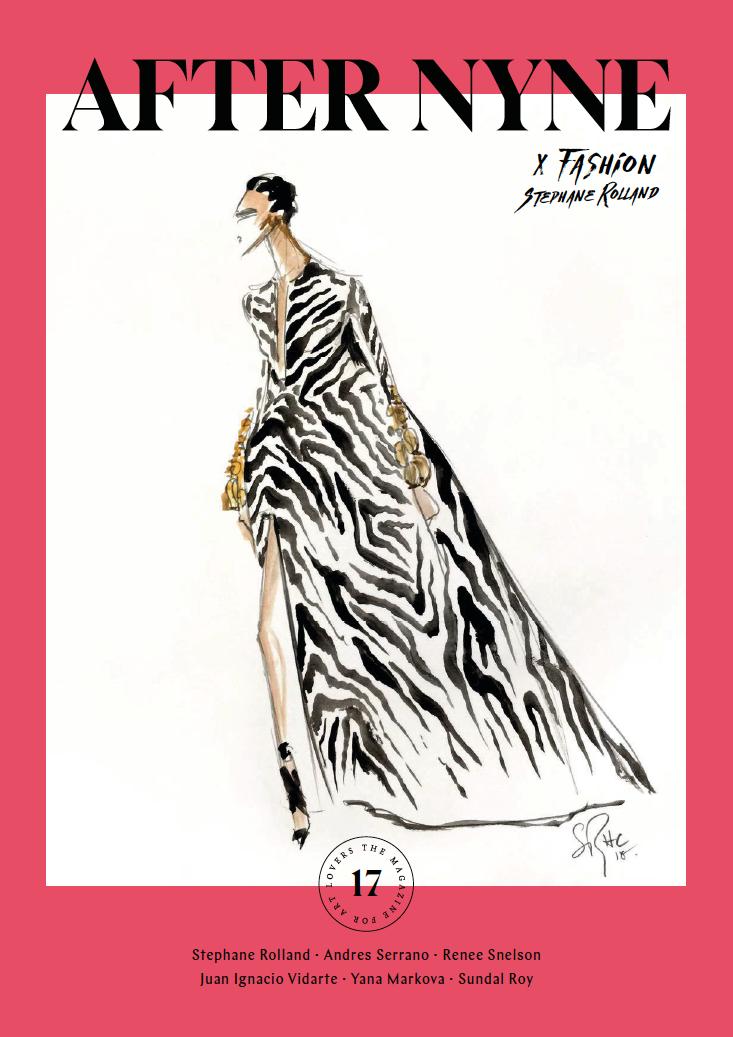 after nine art magazine fashion issue