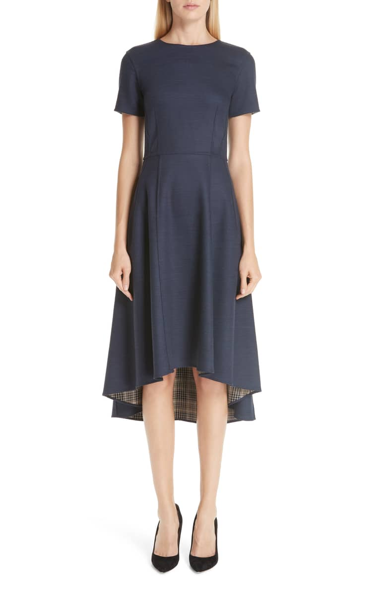 Double Face High/Low Dress, $1490  at Nordstrom