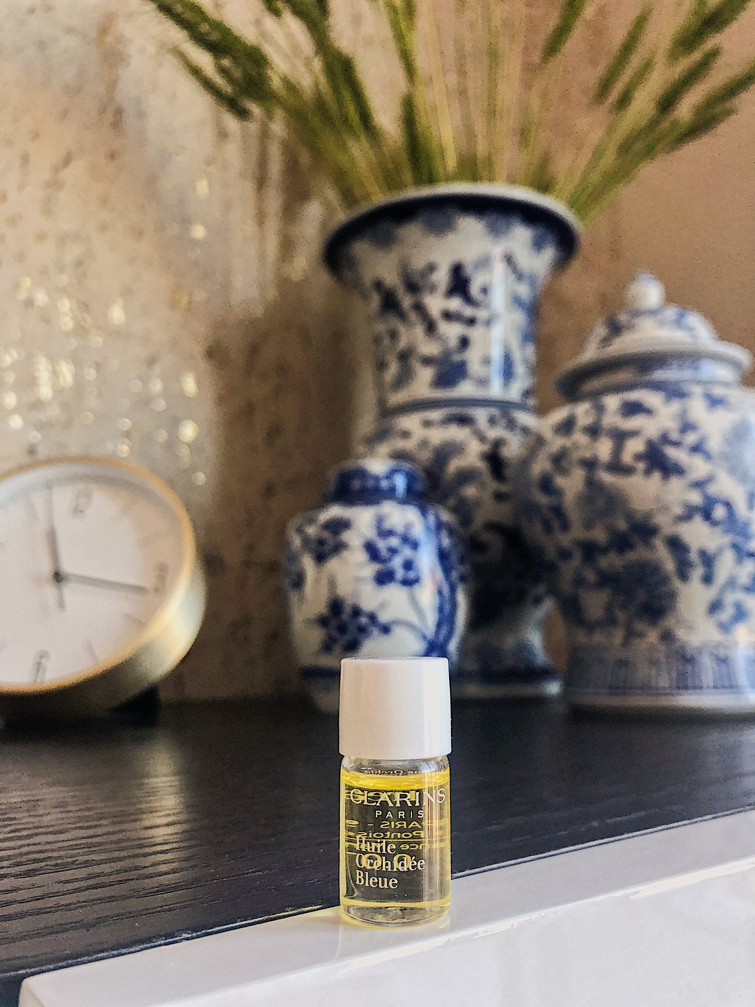 clarins new blue orchid face oil.JPG