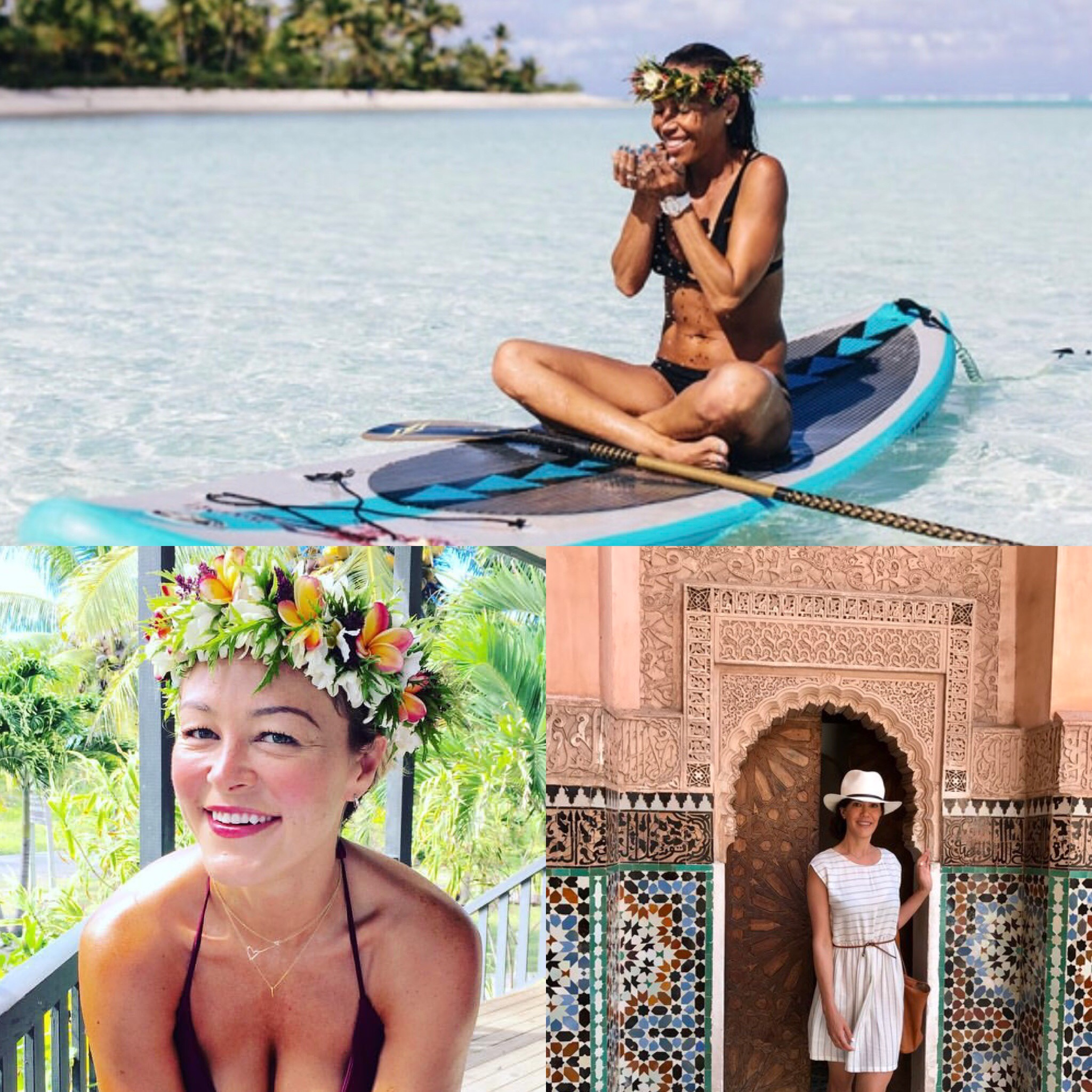 Join me on my next retreat inthe gorgeous Cook IslandsJanuary 2018! -