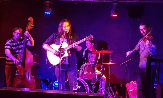 @nothingmanmusic playing @thehideouttoronto for @musiccitynorth 7th Birthday Bash right now!  #musiccitynorth #music #musicians #band #indie #indieband #toronto #livemusic #live #torontolife
