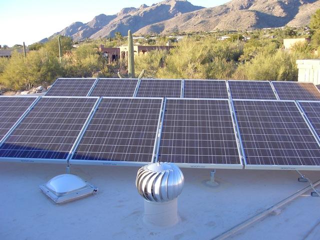 Tucson AZ Home Solar PV