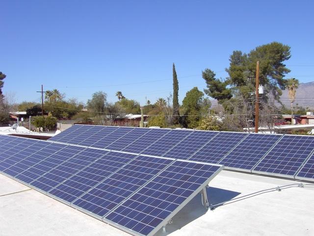 Tucson AZ Home Solar Photovoltaic Panel