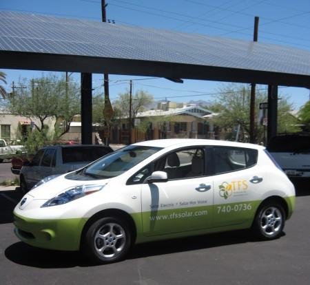 TFS Solar Powered Car
