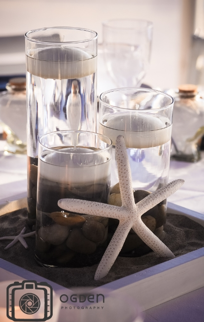 Starfish Candle Centerpiece