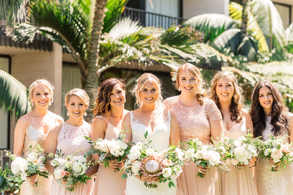 5 bridal party bouquets protea.jpg