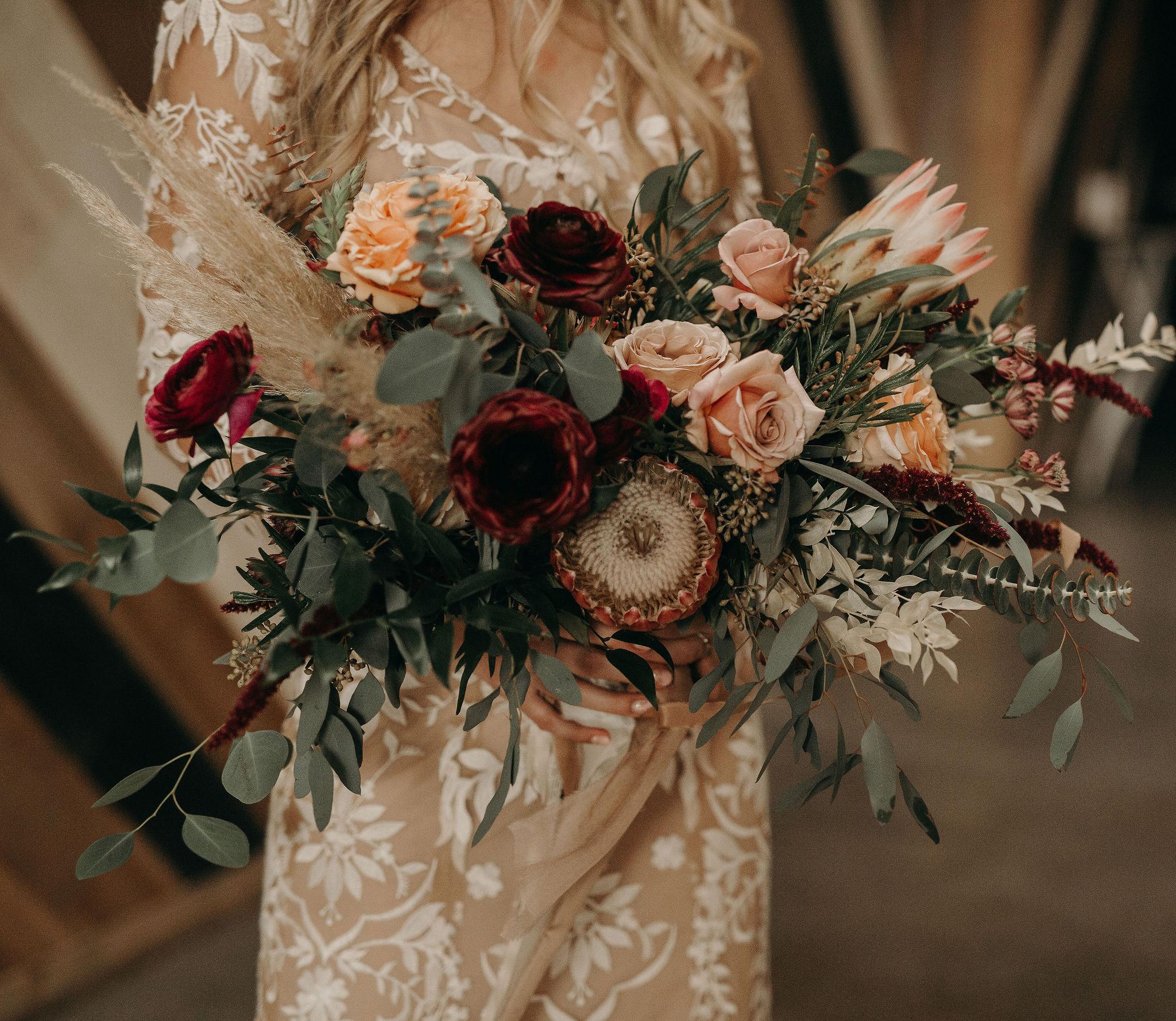 boho protea bridal bouquet 3.jpg