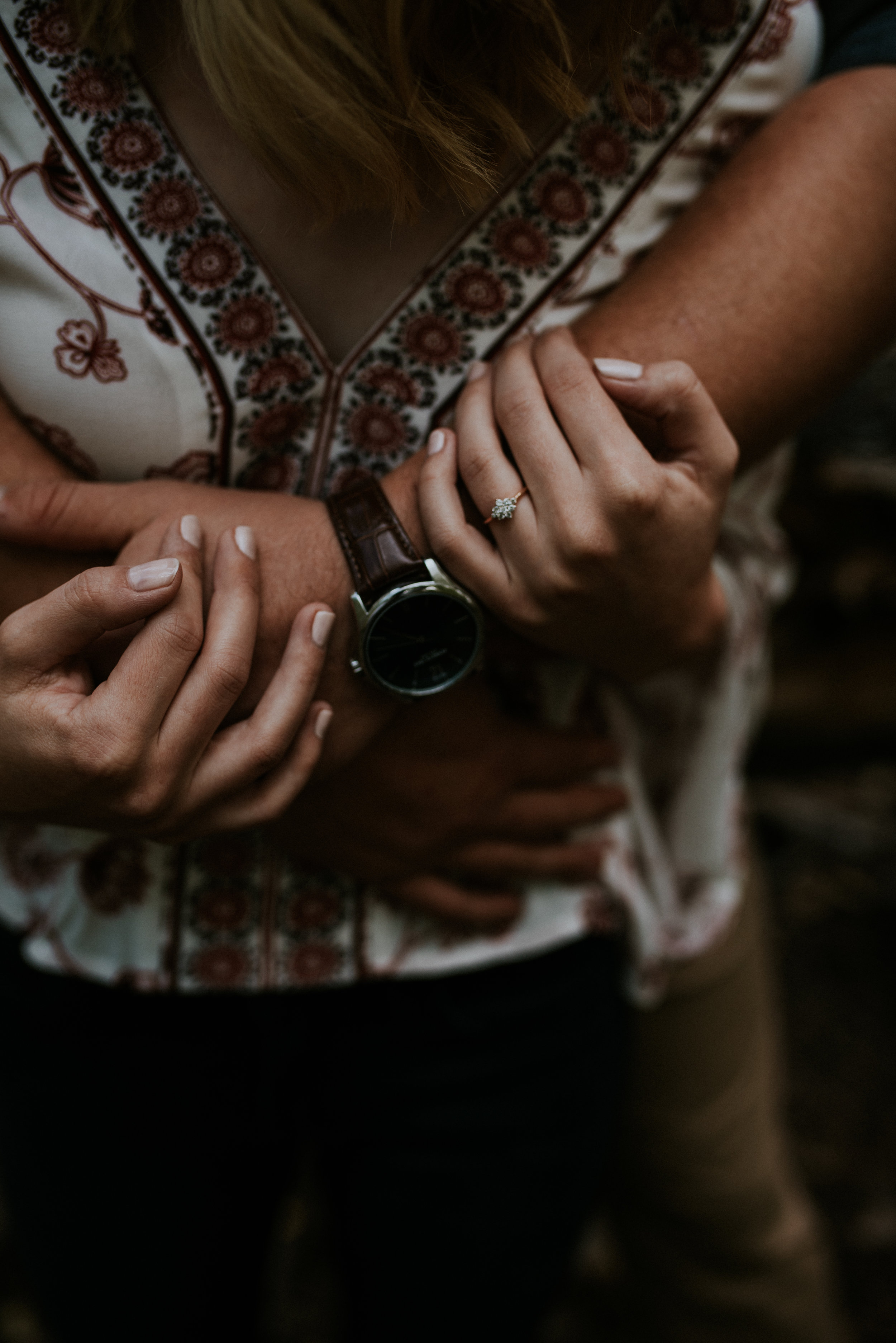 Fall Stormy Engagement Session Mount Lemmon-2.jpg