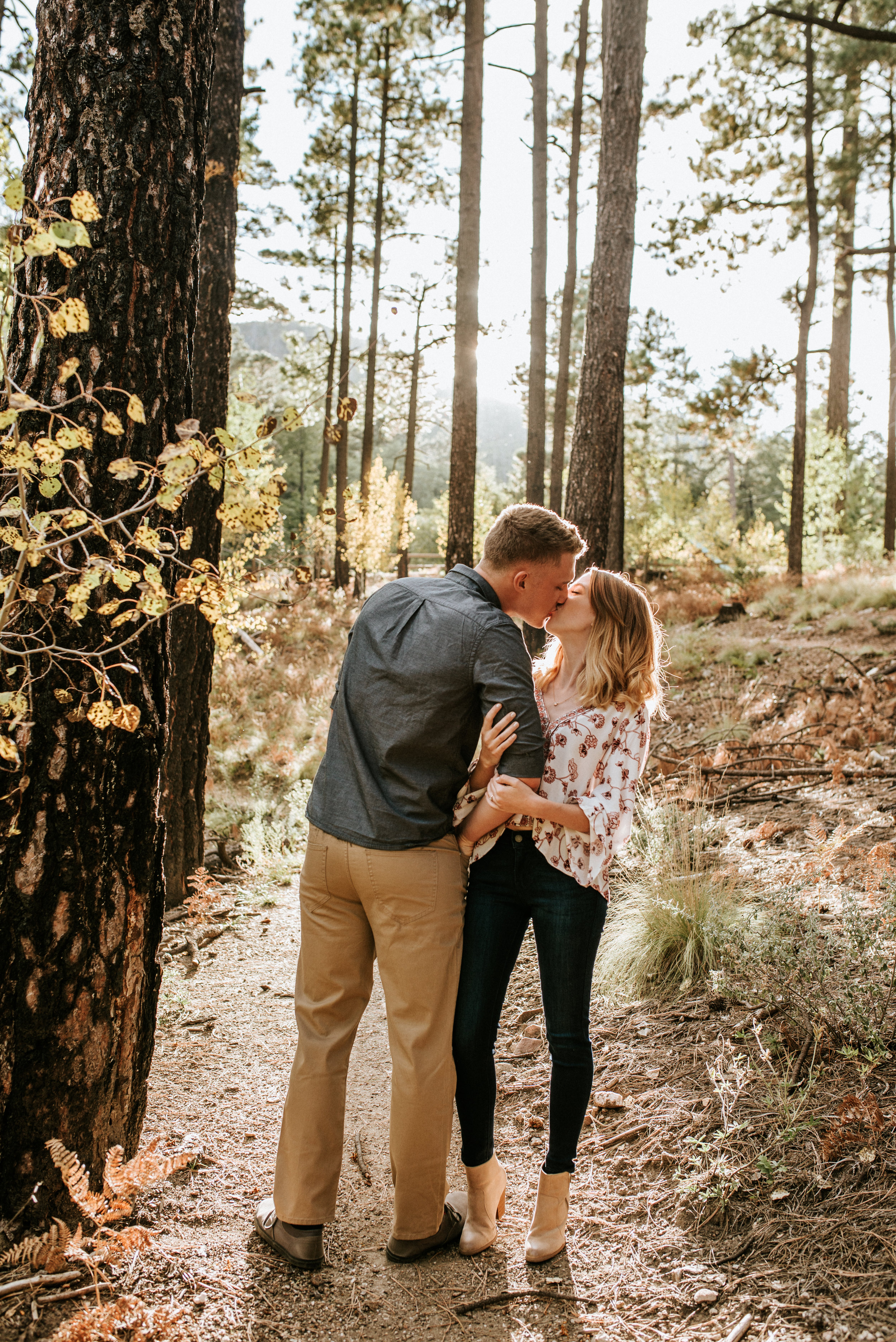 Fall Stormy Engagement Session Mount Lemmon-12.jpg