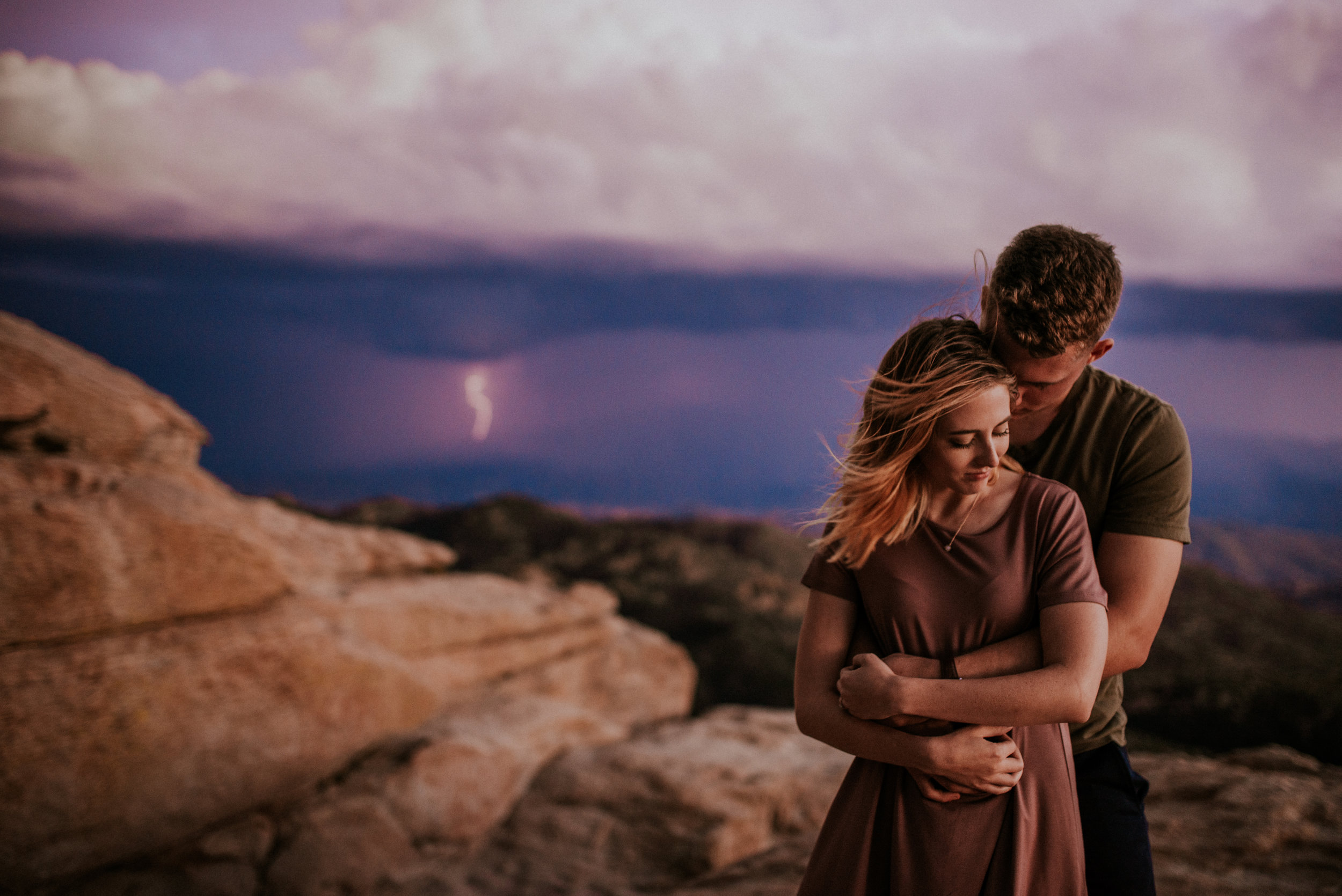 Fall Stormy Engagement Session Mount Lemmon-35.jpg