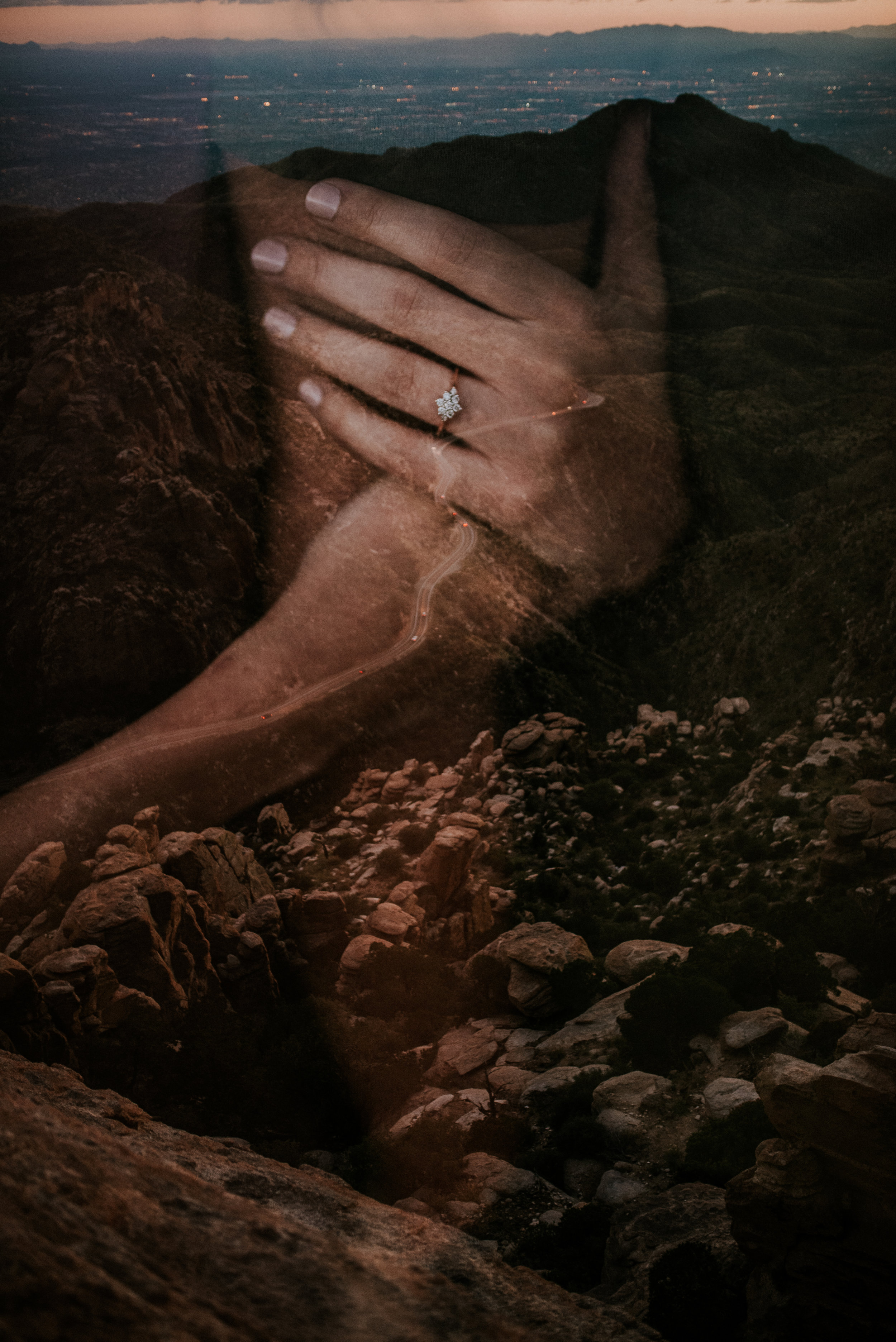 Fall Stormy Engagement Session Mount Lemmon-36.jpg