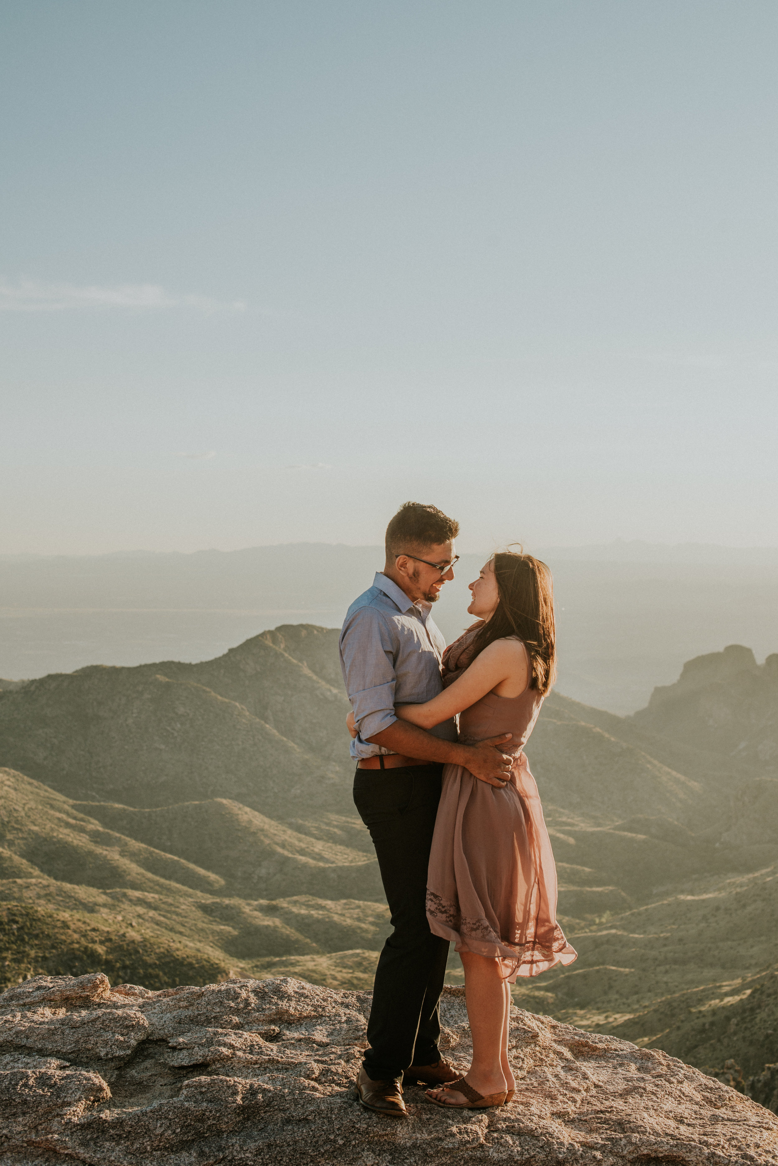 Romantic Fall Mountain Engagement Session Mount Lemmon-55.jpg