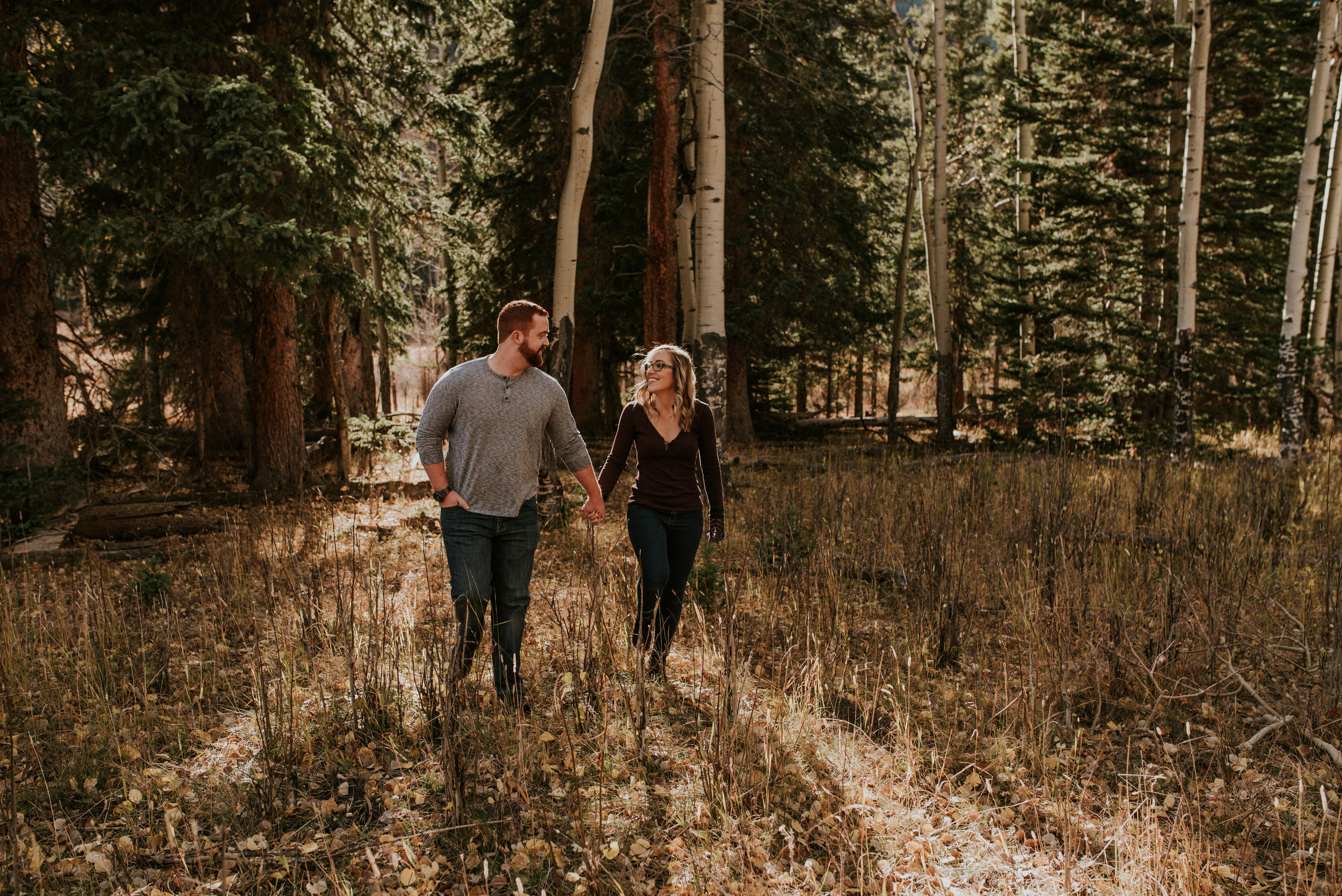 Romantic Windy Rocky Mountain National Park Engagement Photographer-26.jpg