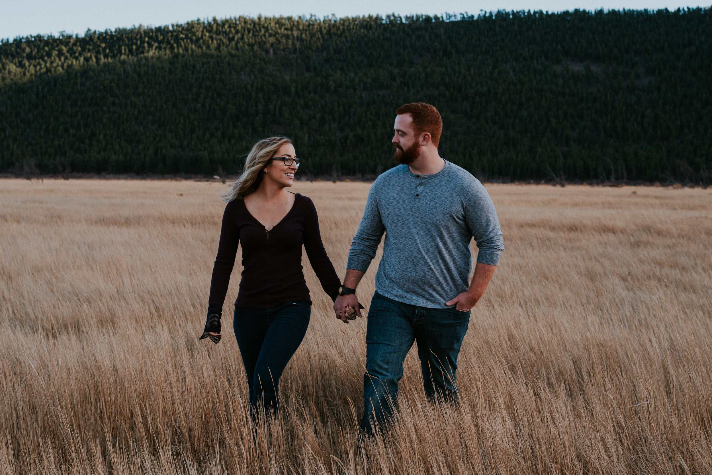 Romantic Windy Rocky Mountain National Park Engagement Photographer-64.jpg