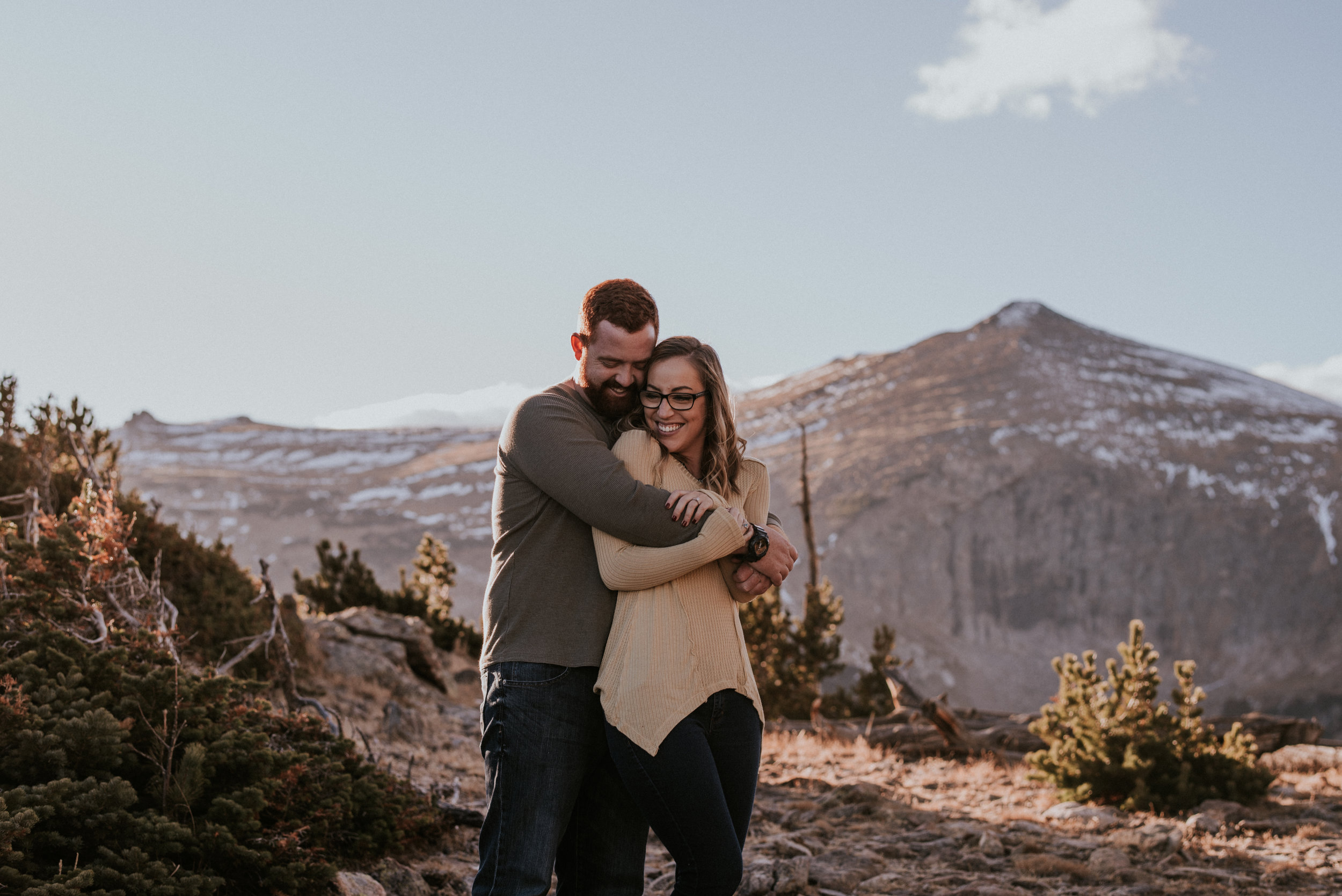 Romantic Windy Rocky Mountain National Park Engagement Photographer-82.jpg