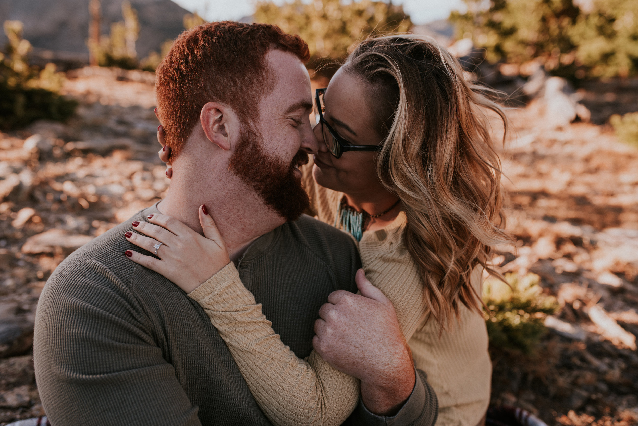 Romantic Windy Rocky Mountain National Park Engagement Photographer-96.jpg