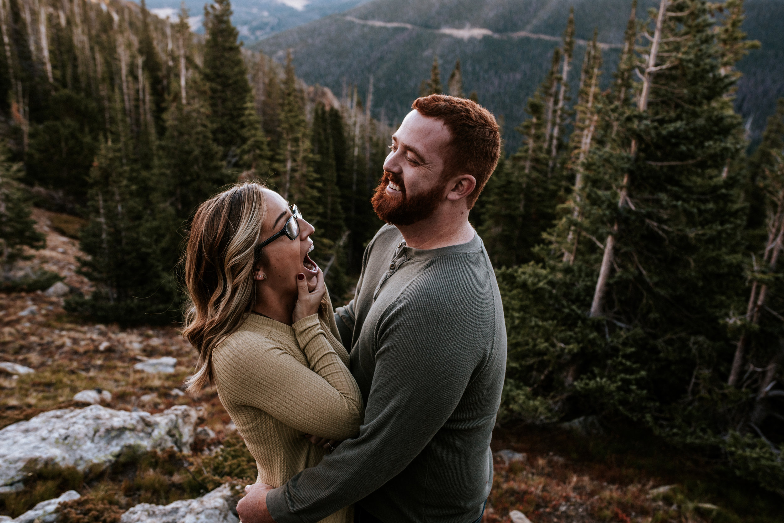 Romantic Windy Rocky Mountain National Park Engagement Photographer-2.jpg