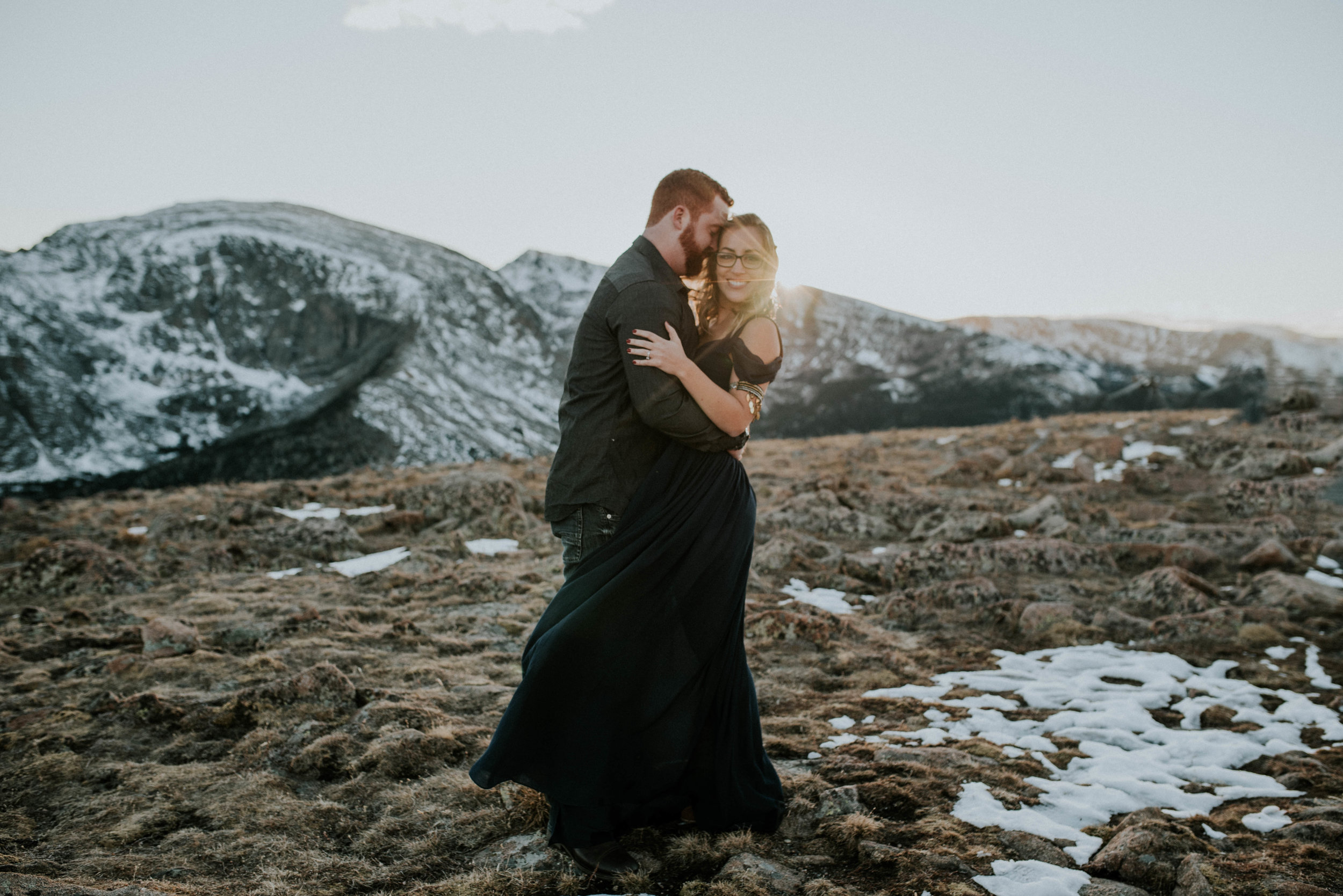 Romantic Windy Rocky Mountain National Park Engagement Photographer-8.jpg
