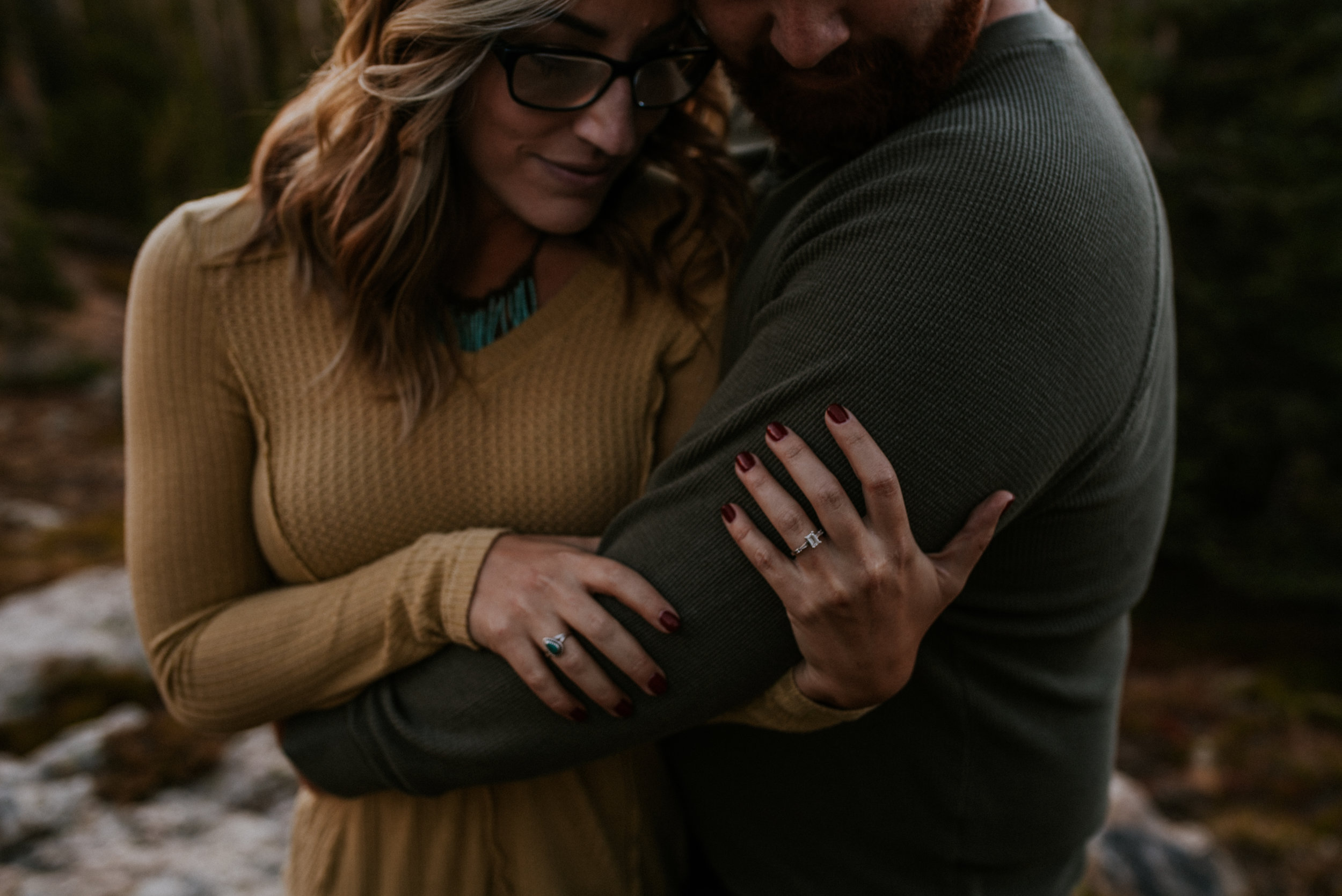 Romantic Windy Rocky Mountain National Park Engagement Photographer-35.jpg