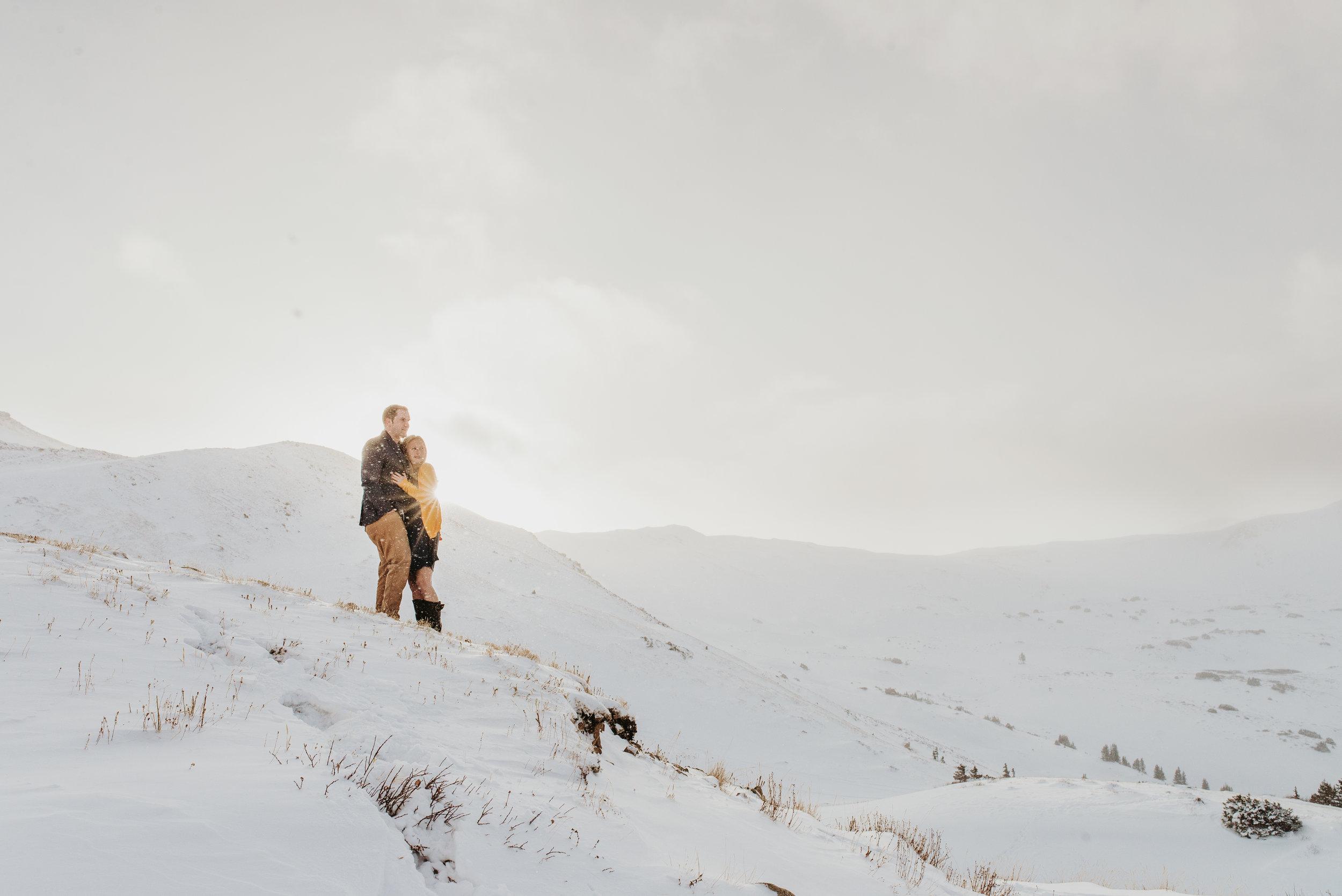 Colorado Adventure Snowy Engagement Session-64.jpg